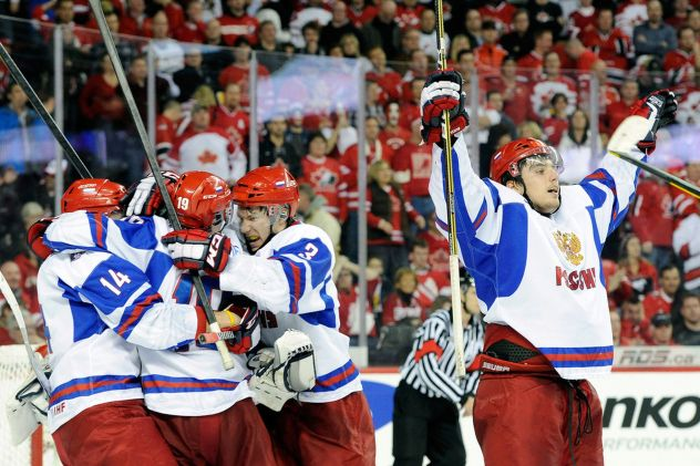 Can the Russians bounce back from last year's loss to Canada to win gold in Finland?