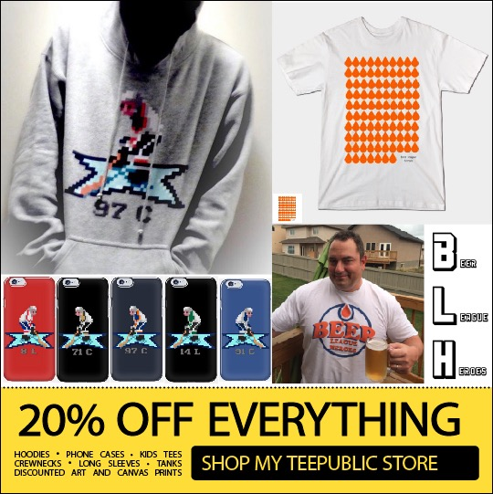 Click the pic and take advantage of some amazing sales over at the BLH Merch Shop!