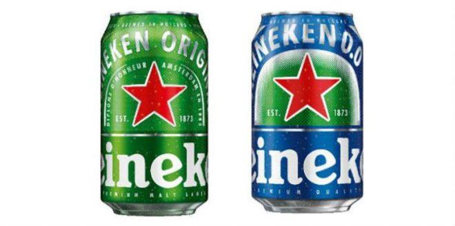heineken new cans