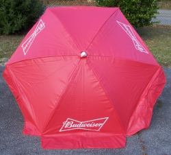 budweiser beer patio umbrella