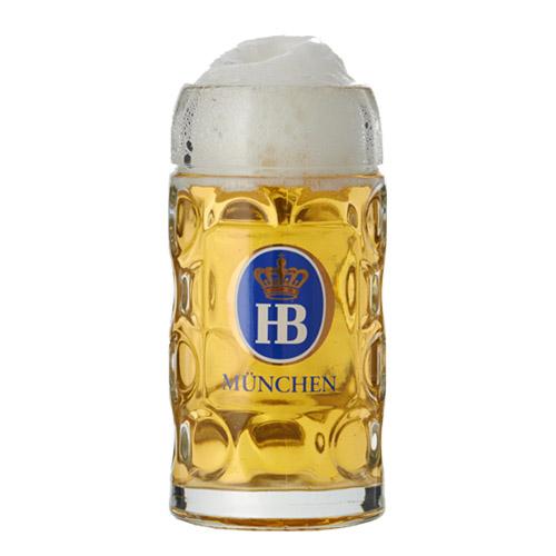 HB Glass Tankard