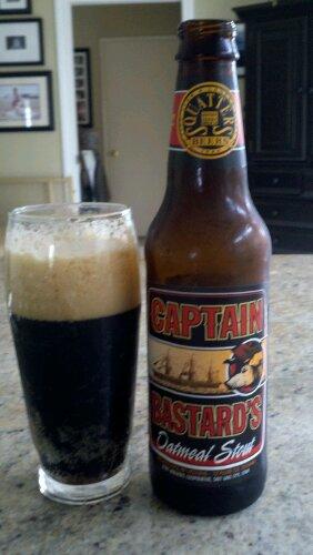 Captain Bastard's Oatmeal Stout