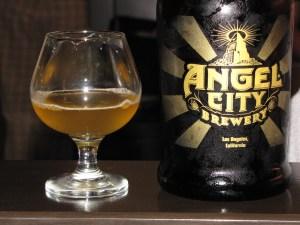 Angel City growler - West Coast Wit