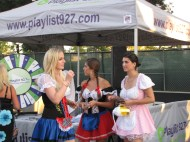 Hey I remember these gals from OC Brew Ha Ha, must be Octoberfest soon.