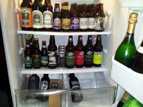Beer Soaked Fridge