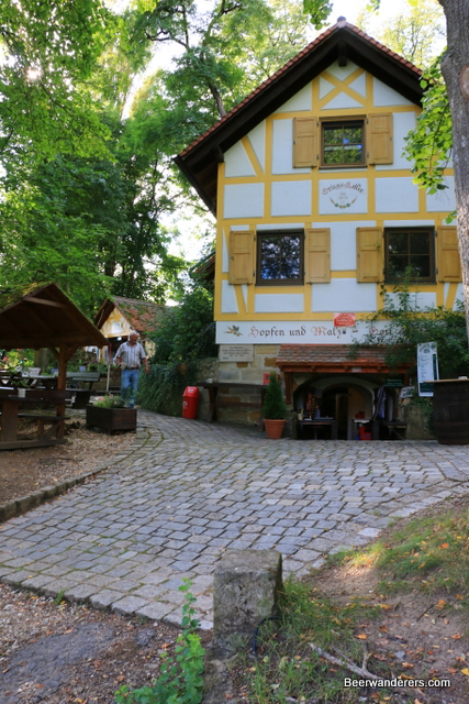 the half-timbered dispensary
