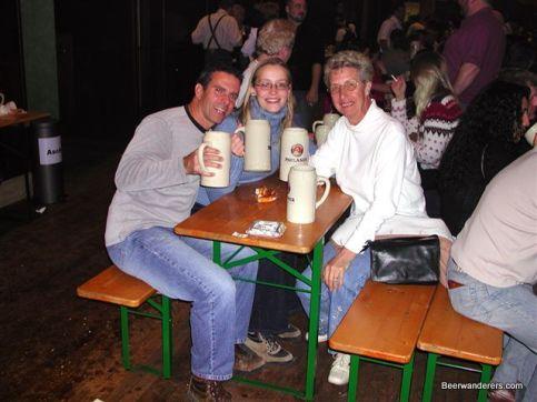 people at beer festival