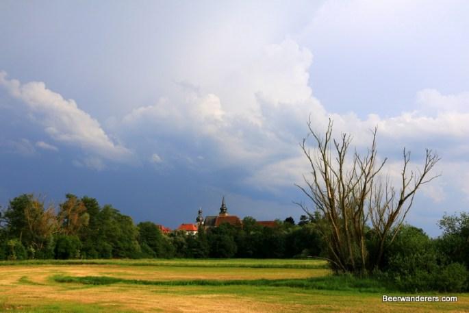 village on horizon