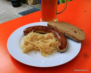 sausage and kraut