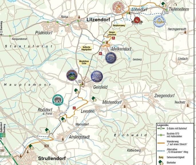 7 Brauereienweg Map