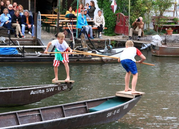 jousting from boats