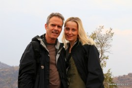 smiling couple in Kruger