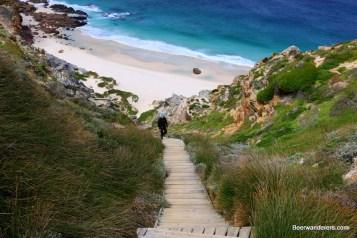 stairs beach