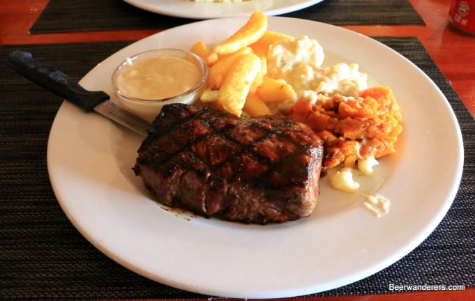 steak at Dixies