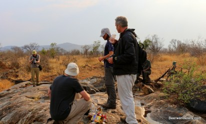 hikers in kruger