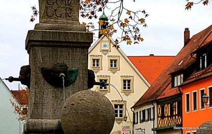 fountain in Gäfenberg