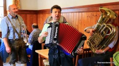 musicians in lederhosen