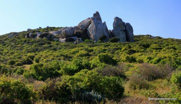 granite formations