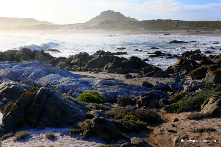 south african rugged beach