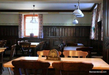 dark wood pub