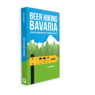 beer hiking bavaria book cover