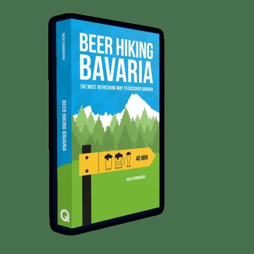 beer hiking bavaria book cover