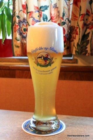 Weißbier in glass