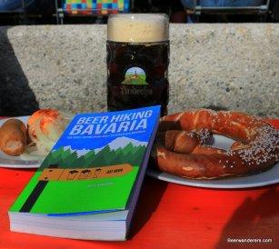 book beer pretzel
