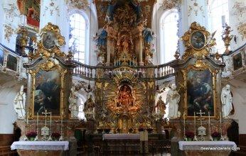 ornate church interior