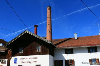 brewery exterior with chimney