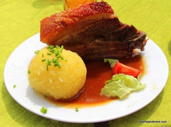 pork shoulder and dumpling