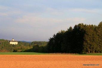castle across a field