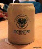 beer in logo ceramic mug