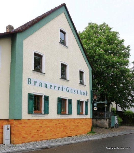brewery with biergarten