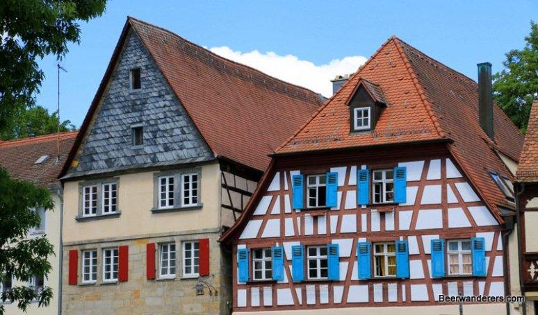 forchheim half-timbered houses
