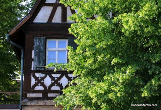 forchheim half-timbered building