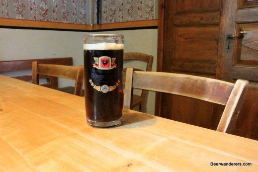dark beer in old pub