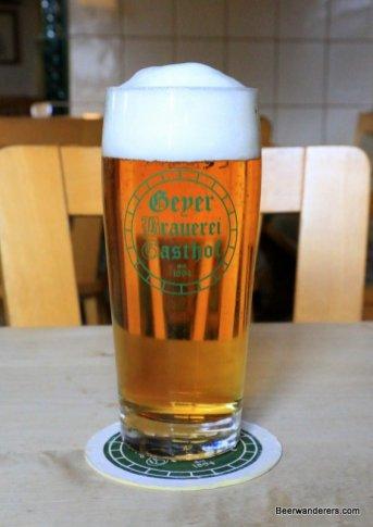 golden beer in glass