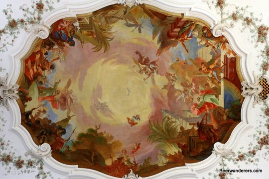 painted church ceiling