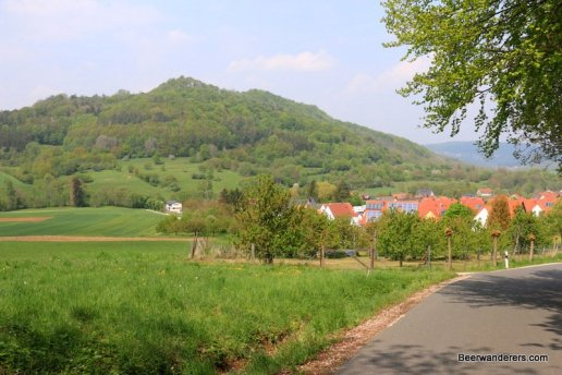 large hill in the distance