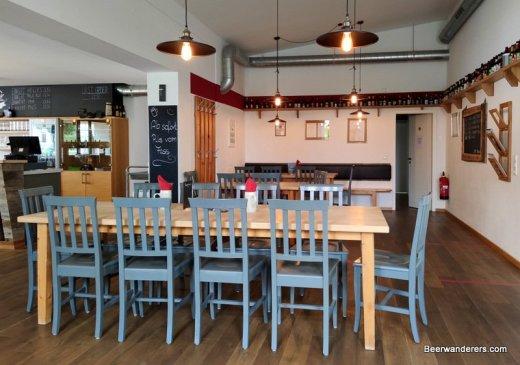 modern pub interior