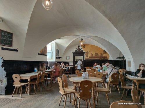 vaulted bavarian restaurant