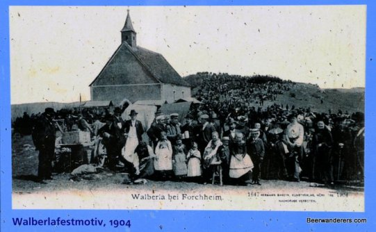 old photos of the walberlafest