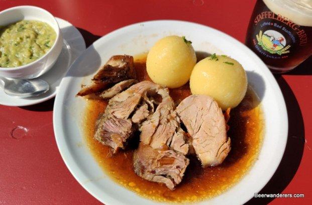 roast pork with dumplings