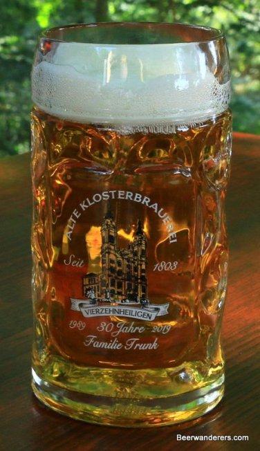 golde beer in logo mug