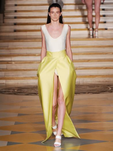 Emilia Wickstead francis duchess-satin maxi skirt (@ Matches Fashion)