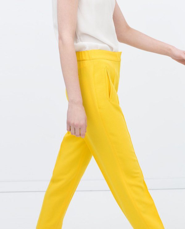 Zara, trousers with elastic waist