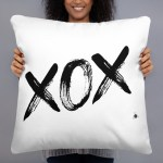 """Couch pillow XOX"""" high quality"""