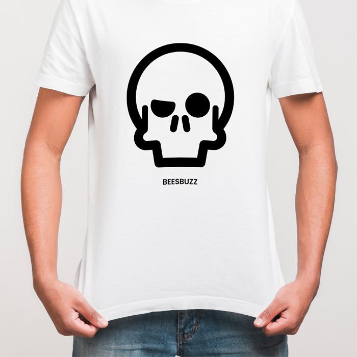 BC skull T shirt men MOCKUP