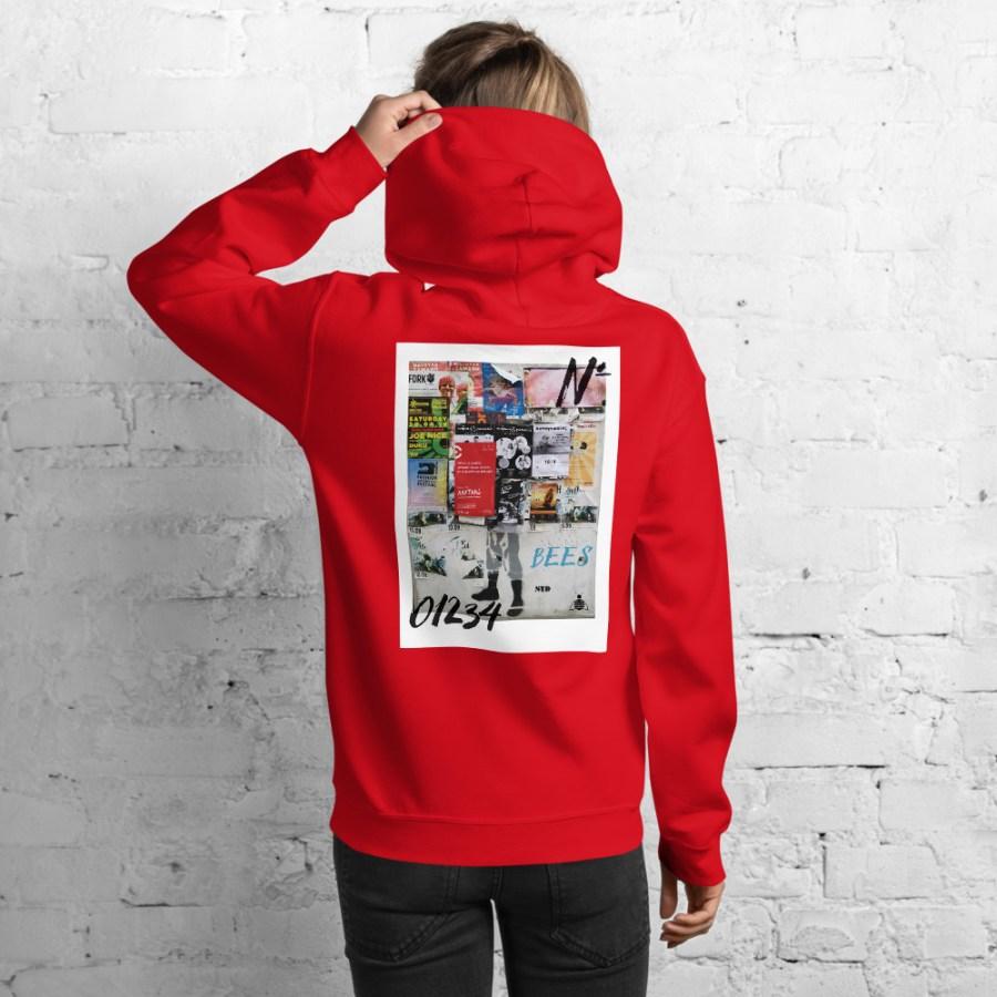 unisex heavy blend hoodie red back 6140acc43b786